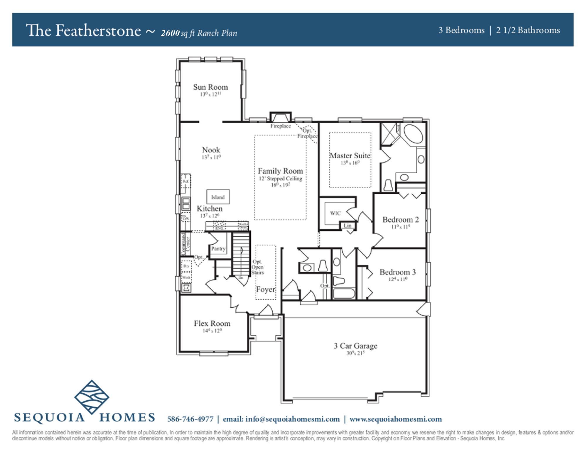 Sequoia Homes Michigan Home Builder